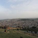 Blick über die Medina aus dem Norden...
