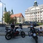 Angekommen im Zentrum Budapests