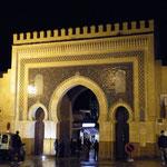 Das blaue Tor - eine der Zugänge zur Medina