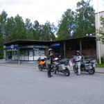 Ankunft in Lappeenranta