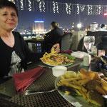 Unser letztes Abendessen am Dubai-Creek