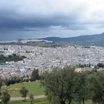 Blick vom Borj Sud hinüber auf die Medina