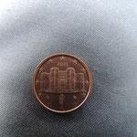 Vielleicht findest Du das Castel in Deinem Geldbeutel (1-Cent)