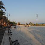 Strandpromenade von Pozzallo
