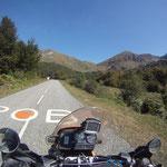 Überall Spuren der Tour de France