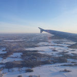 Anflug auf Helsinki