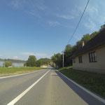 Entlang der Donau folgen wir der kroatisch-serbischen Grenze