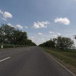 Nach Tiraspol folgte noch ein wenig Landstraße durch die PMR