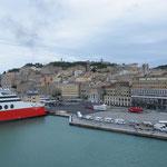 Ausblicke von Bord auf Ancona