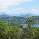 Tolle Landschaften am Shkoder-See