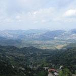 Tolle Panoramen auf dem Weg nach Süden