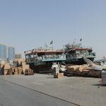 Daus aus dem Iran am Dubai Creek