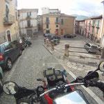 Abfahrt in Sulmona