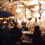 Abendessen am Djemaa el Fna