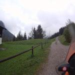 Abfahrt in Rinnen