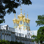Der zu recht weltberühmte Katharinenpalast