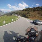 Und wqieder rauf - diesess Mal ist es det Gotthard-Pass