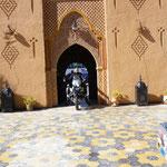 Einfahrt in die Kasbah Asmaa