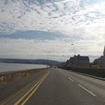 Nur 8 KM Fahrt bis zur Fähre