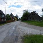 Russisches Dorf am Peipussee