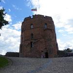 Die Festung oberhalb der Stadt