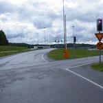 Stop Nr. 1 - die finnische Genzstation