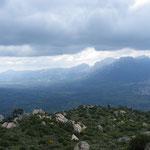 Blick hinab vom Monte Ortobene