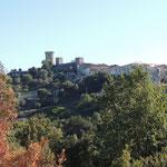 Abschied von Castelnuovo Cilento