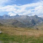 Auf dem kleinen St. Bernhard-Pass
