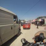 Spannend - Stadtverkehr in Shkoder