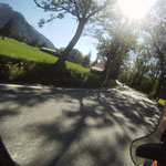 Die ersten Meter in der Schweiz