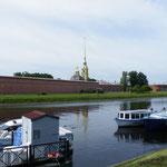 Hier sind die Wurzeln des heutigen Sankt Petersburg