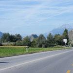 Im Wallis Richtung Martigny