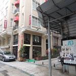 Unser Hotel nahe des Taksim-Platzes