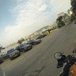 In Sarande der letzte Blick auf ´s Mittelmeer