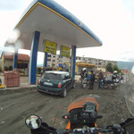 Tankstopp in Kukes