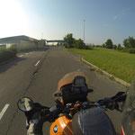 Wir nähern uns der rumänischen Grenze