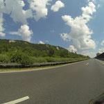 Kilometerfressen auf der Autobahn