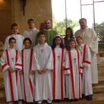 Presentazione nuovi ministranti - 2008