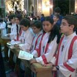 Raduno ministranti in Transpontina - 2008