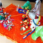Spielstunde für einen Kindergarten - Thema: Indianer(2)