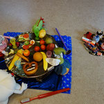 Spielstunde für einen Kindergarten - Thema: Der König feiert ein Fest