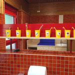 Zähneputzen in einem Kindergarten. So sollte es aussehen.