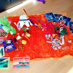 Spielstunde für einen Kindergarten - Thema: Indianer(1)