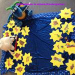 Spielstunde für einen Kindergarten - Thema: Das Sternenpicknick