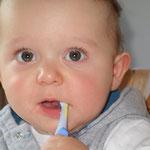 Auch bei Kleinkindern ist Zähneputzen wichtig