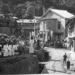 昔の温泉郷