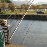 Porto Badino - Bilancia 3 x 3 mt. motorizzata a 12 V