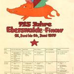 Auftrag der Stadt Eberswalde zur 725-Jahrfeier 1979