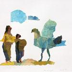 Der Urvogel /  2014 /   42,5 x 51,5cm